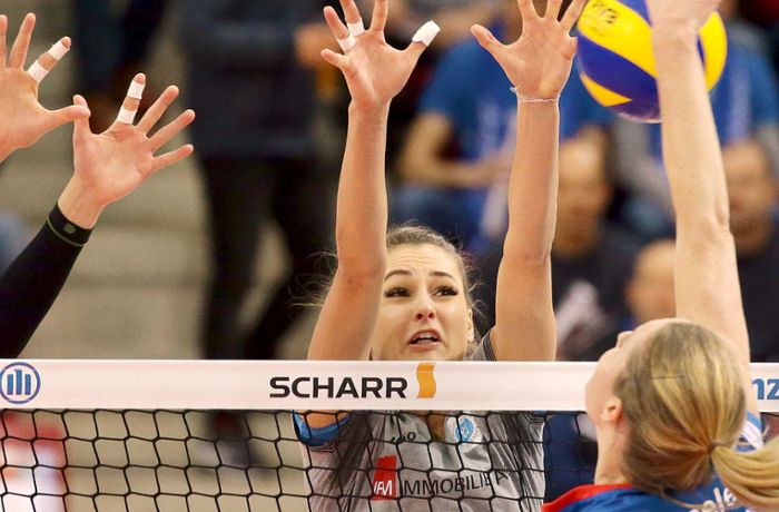 Volleyball – Bundesliga, Frauen: Dora Grozer – ein prominenter Name in Stuttgart