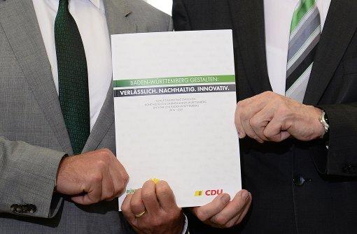 Grün-Schwarz ringt um Etat für 2017