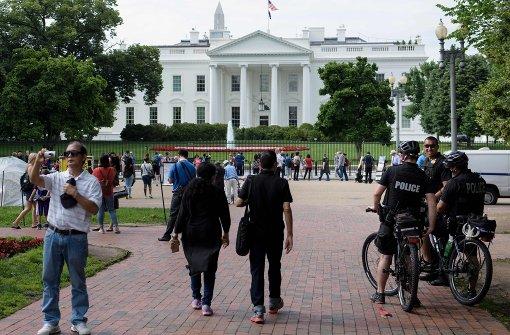Streit über neuen Zaun fürs Weiße Haus