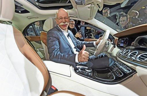 Daimler strebt neuen Rekordgewinn an