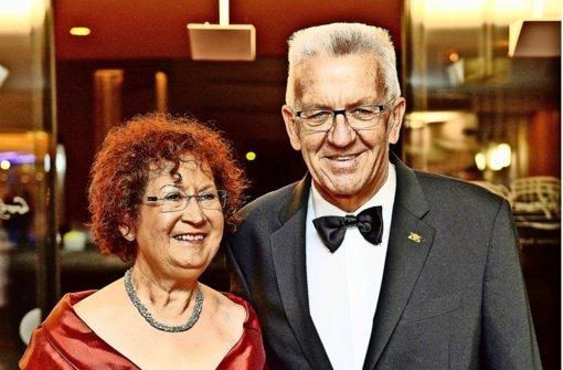 Gerlinde und Winfried Kretschmann Foto: dpa
