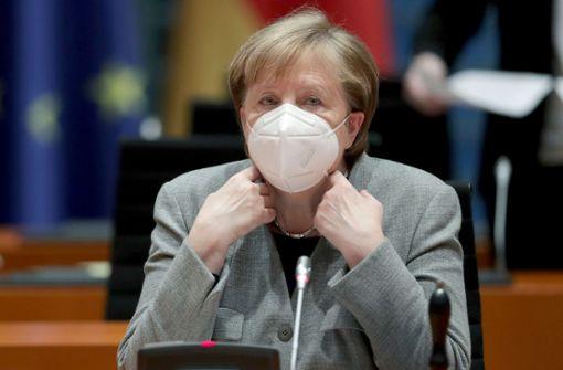 """Einem Bericht der """"Bild"""" zufolge will Angela Merkel einen härteren Lockdown"""