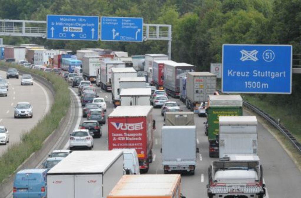 Stau Autobahn A8