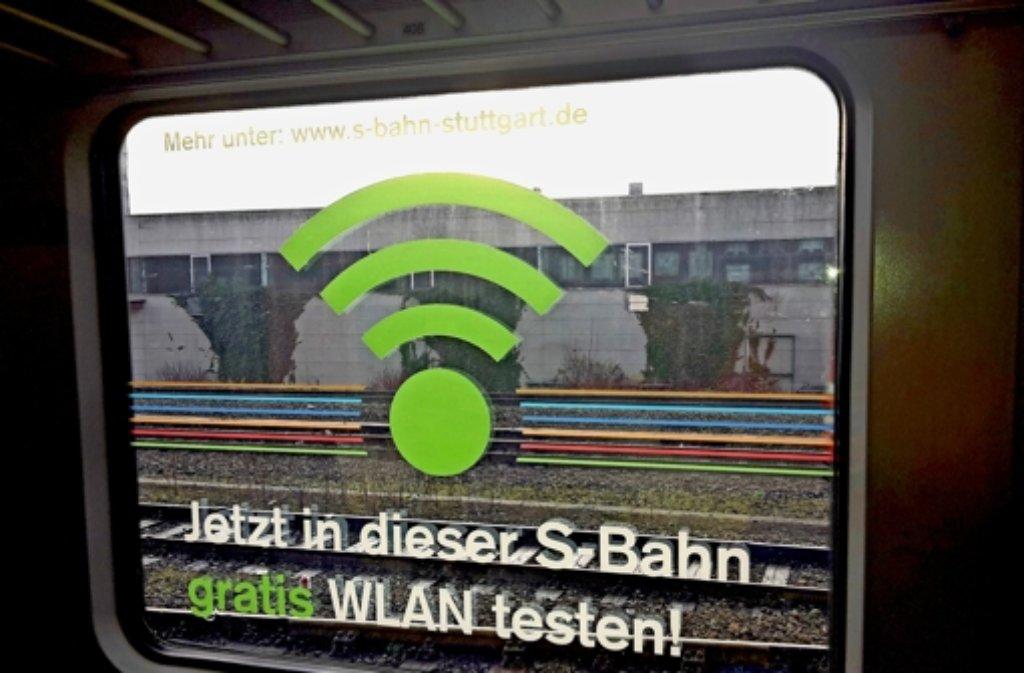 Wlan In S Bahnen Von Stuttgart Online Wenn Man Glück Hat