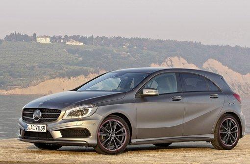 Die A-Klasse gehört zu den Wachstumsmotoren bei Daimler Foto: Daimler