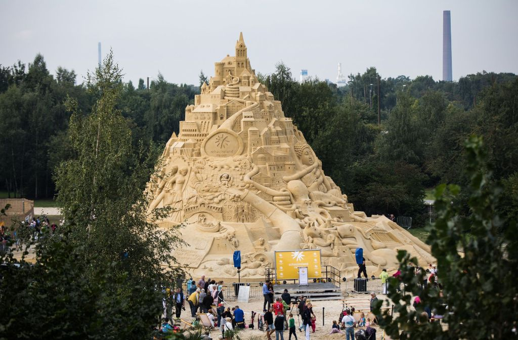Höchste Sandburg Der Welt