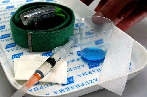 Methadon hilft vielen Heroinabhängigen in ein geregeltes Leben Foto: dpa