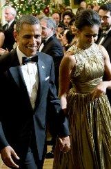 ... US-Präsident Barack Obama und seine Frau Michelle. Foto: AP