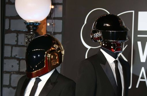 Daft Punk  2013 bei den MTV Video Music Awards in Brooklyn New York. Foto: imago images/ZUMA Wire/imago stock&people