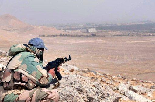 Die syrische Armee hat wieder die Kontrolle über Palmyra. Foto: AP