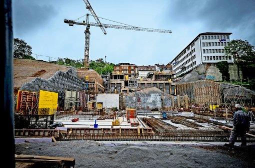 Neubau bisher im Zeit- und Kostenrahmen