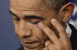 US-Präsident Barack Obama hat nach dem Schulmassaker von Connecticut mit insgesamt 27 Toten entschlossenes Handeln gegen die Waffengewalt gefordert. Foto: EPA