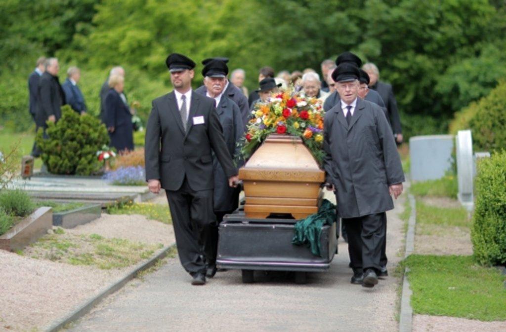 Beerdigung Baden Württemberg