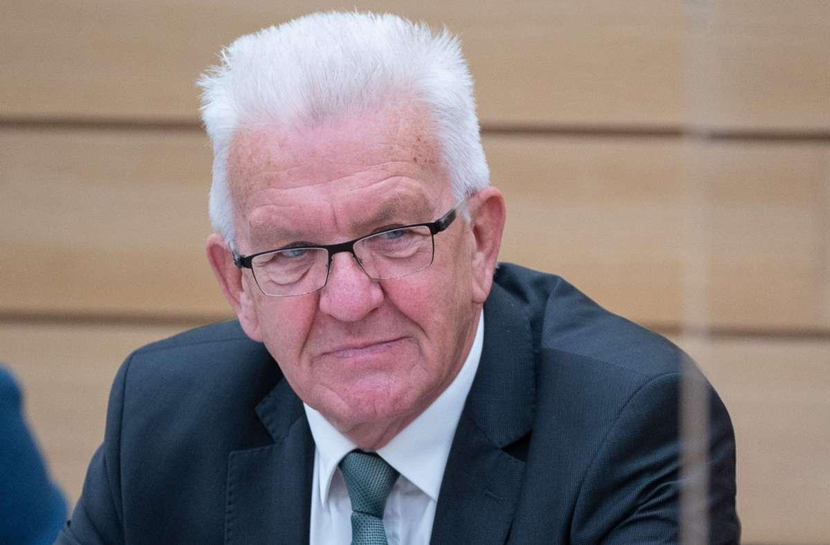 Corona Massnahmen In Baden Wurttemberg Landesregierung Verkundet Neue Regeln Am Sonntag Baden Wurttemberg Stuttgarter Nachrichten