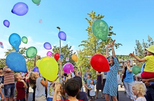 Achtung: Spielende Kinder auf der Straße