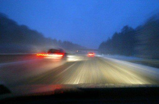 82.000 Euro Schaden nach Schnee-Crash