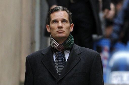 Der Schwiegersohn des spanischen Königs, Iñaki Urdangarin, auf dem Weg zum Gericht. Foto: dpa