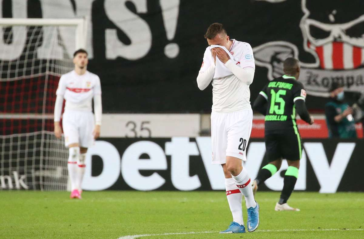 Einzelkritik zum VfB Stuttgart: Philipp Förster und Co. verzweifeln am effektiven VfL Wolfsburg