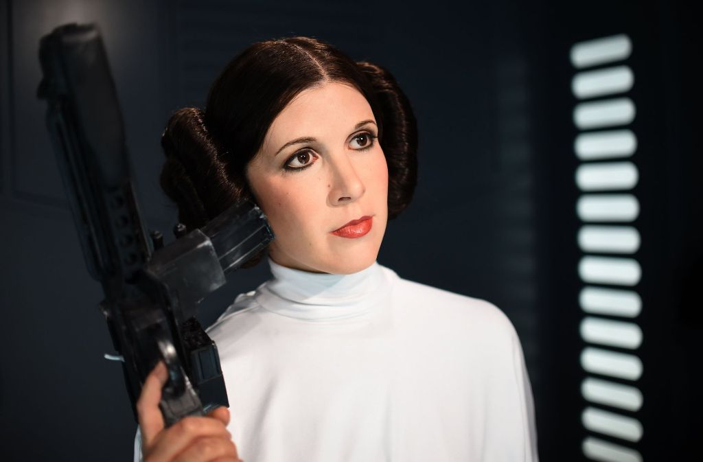 carrie fisher tot