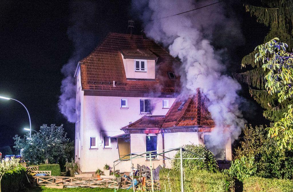 Brand In Esslingen