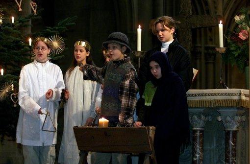 Das Krippenspiel überträgt die Weihnachtsgeschichte in die heutige Zeit. Foto: Zweygarth