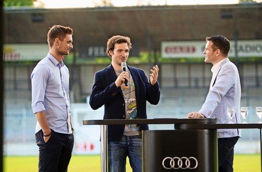 sport talk im gazi stadion felix neureuther ist fan vom muggaseggele stuttgart. Black Bedroom Furniture Sets. Home Design Ideas