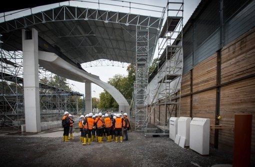 Auf der Stuttgart-21-Baustelle gibt es Verzögerungen Foto: Lichtgut/Achim Zweygarth