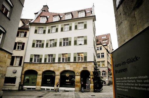 Das Gebäude Geißstraße 7 soll im kommenden Frühjahr saniert werden. Foto: Leif Piechowski