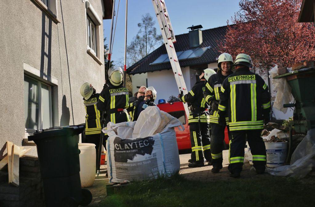 45ce16c0896906 Ein Betrunkener hat bei Waiblingen einen heftigen Verkehrsunfall  verursacht