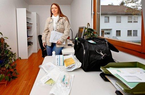 Claudia Gussmann hilft todkranken Schmerzpatienten. Foto: factum/Granville