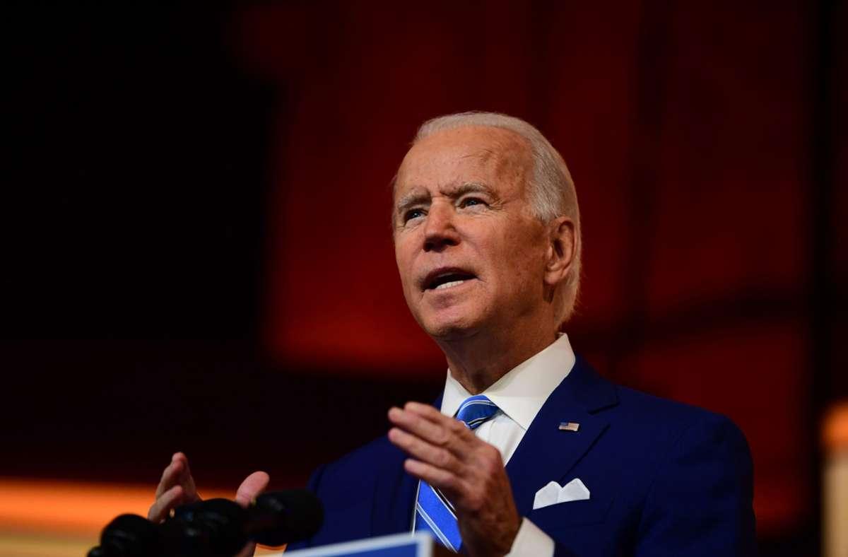 Künftiger US-Präsident: Joe Biden setzt für sein Kommunikationsteam  komplett auf Frauenpower - Politik - Stuttgarter Nachrichten