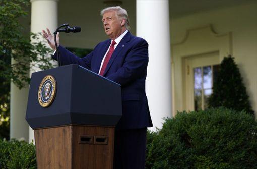 Trump unterzeichnet Sanktionsgesetz gegen China