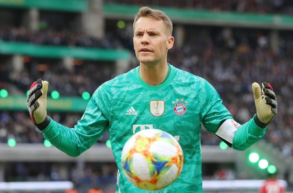 Fussball Nationalmannschaft Ist Manuel Neuer Wieder Der Alte Fussball Stuttgarter Nachrichten
