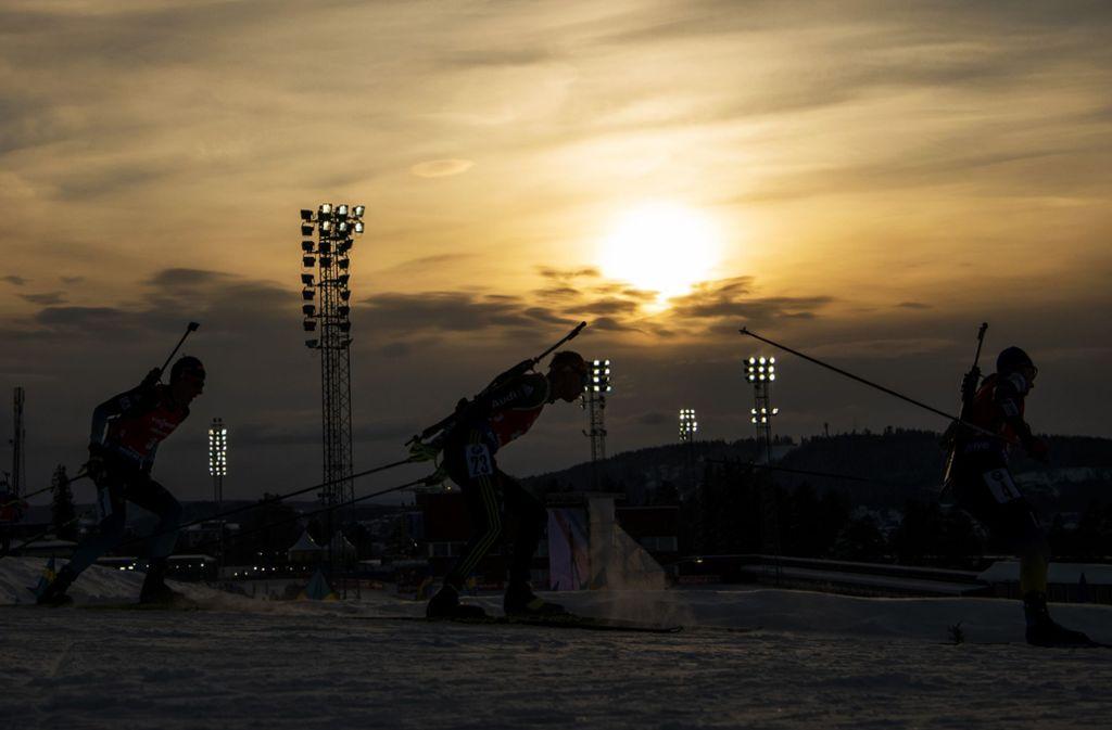 Biathlon In östersund