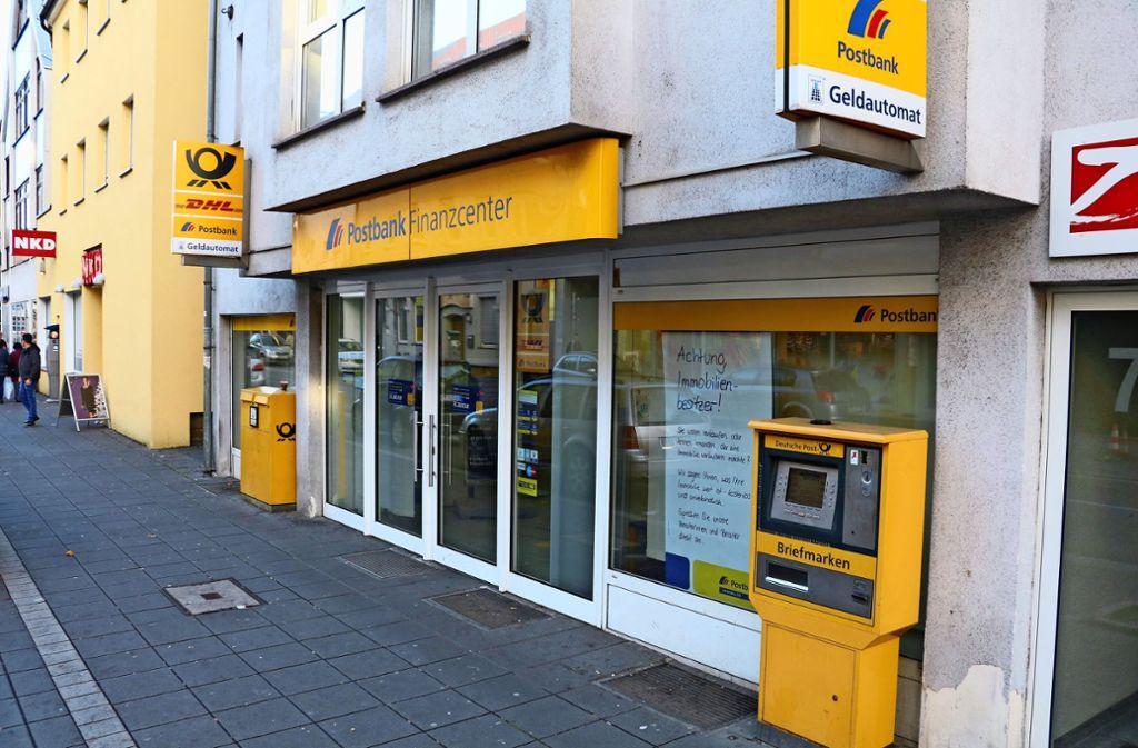 Karte Sperren Postbank.Zuffenhausen Post Und Postbank Schließen Mitte Juni Zuffenhausen