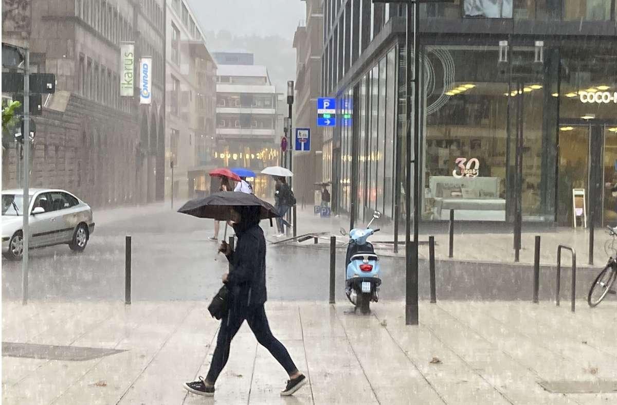 Wetter in Stuttgart Wann wird es endlich wieder schön ...