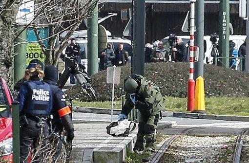 Nach den Terroranschlägen vom 22. März in Brüssel führt die belgische Polizei immer wieder Razzien durch. Foto: dpa