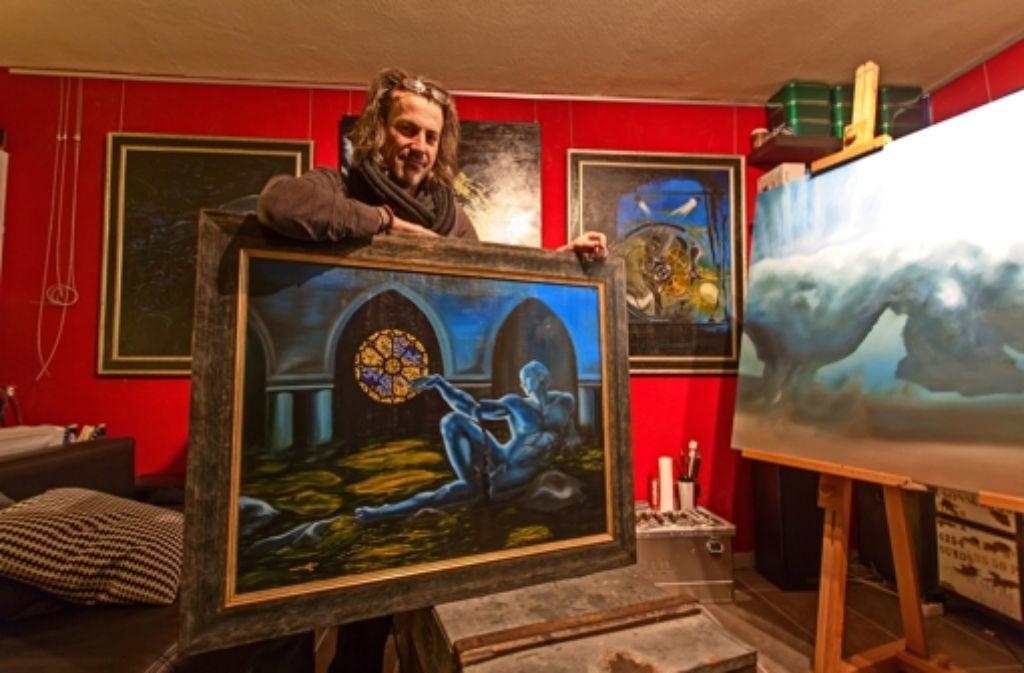 Künstler Auf Den Fildern Ein Surrealer Geschichtenerzähler