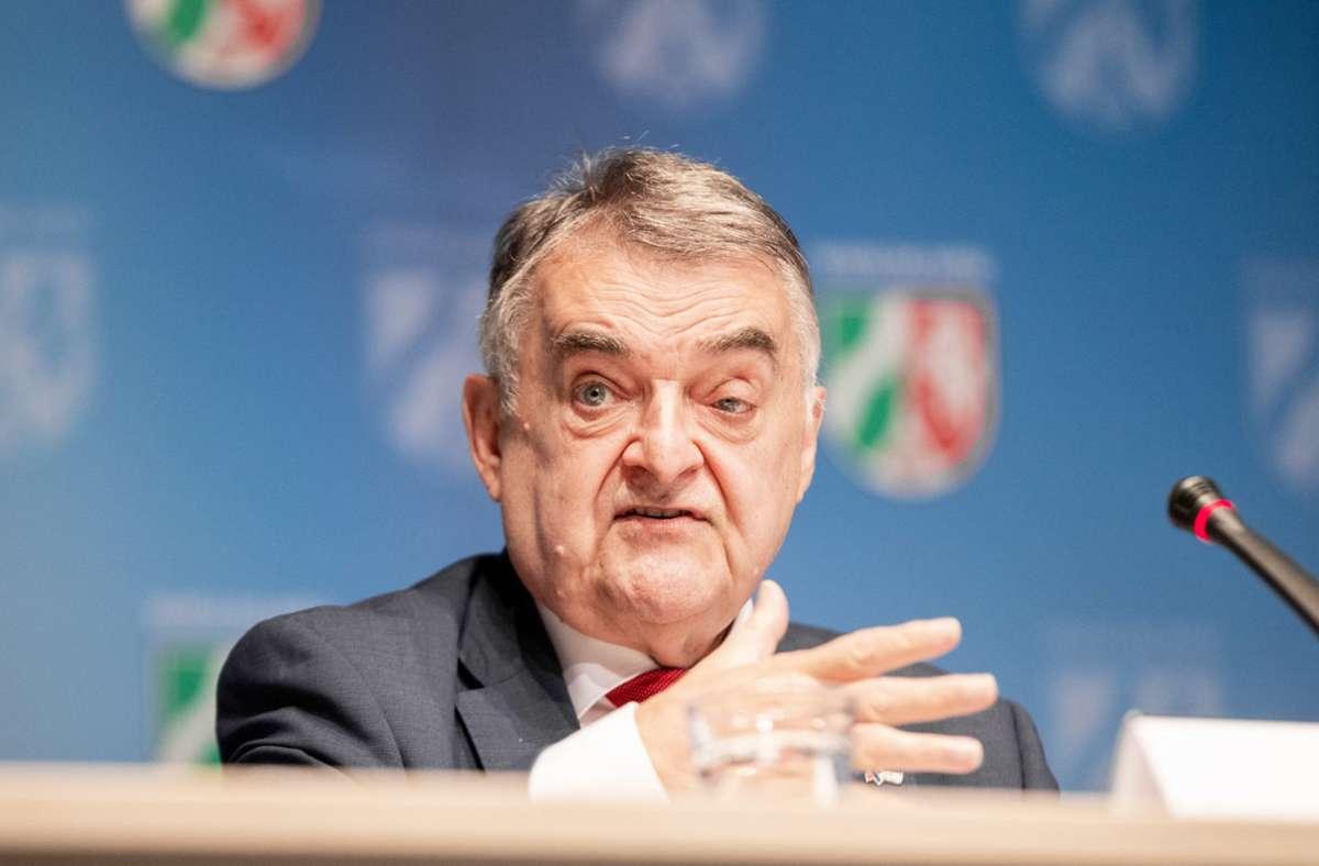Landesinnenminister Nrw