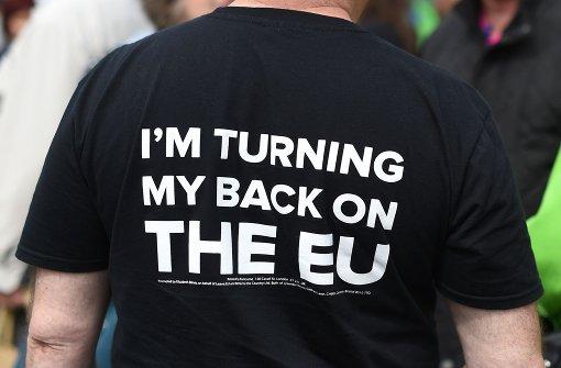Befürworter und Gegner eines Brexits liegen gleichauf