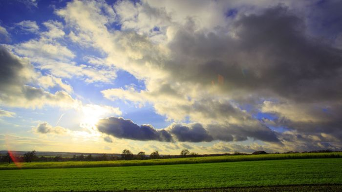 Sonne-Wolken-Mix bei milden Temperaturen