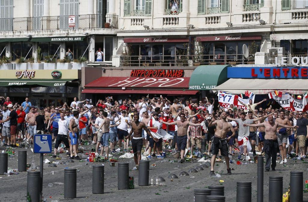 Krawalle In Marseille
