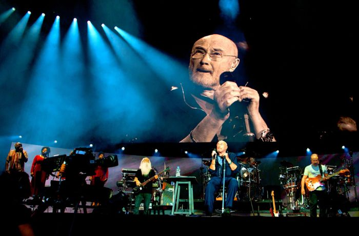 Phil Collins' Konzert in Stuttgart: Ein Füllhorn voller Hits