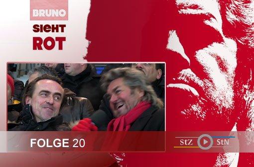 Bruno sieht rot: Beim VfB II auf Talentsuche