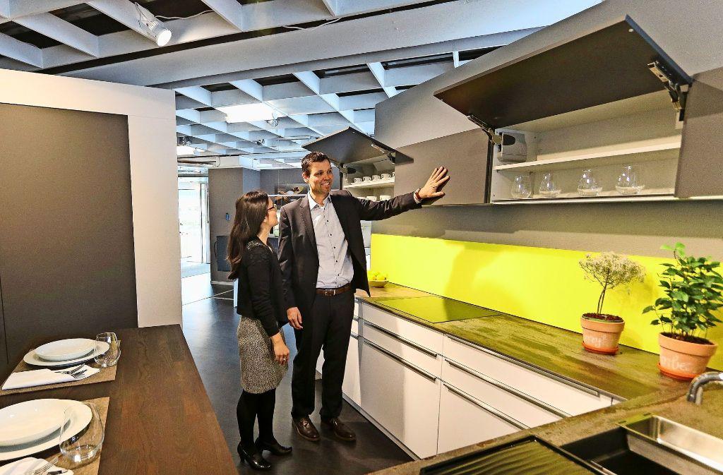 Jochen Fischer Und Seine Frau Lucia Fischer Guimil Haben Das Küchenstudio  Koch übernommen. Foto: