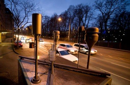 Am Neckartor werden reihenweise die höchsten Feinstaub-Werte in Deutschland gemessen. Foto: dpa