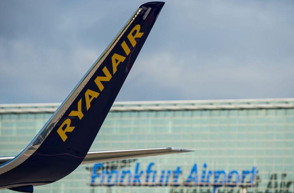 Flughafen Frankfurt Ankunft Ryanair