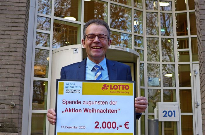 Aktion Weihnachten 2020/21: Toto-Lotto spendet
