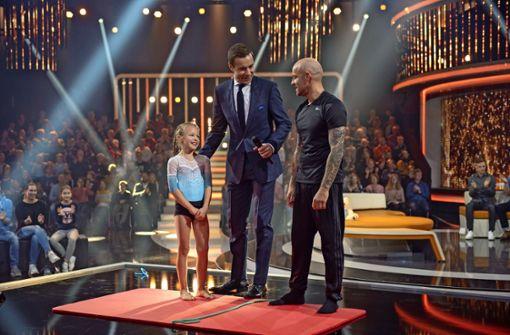 Achtjahrige Aus Oeffingen Bei Tv Show Lea Fordert Jurgen Vogel Heraus Rems Murr Kreis Stuttgarter Nachrichten