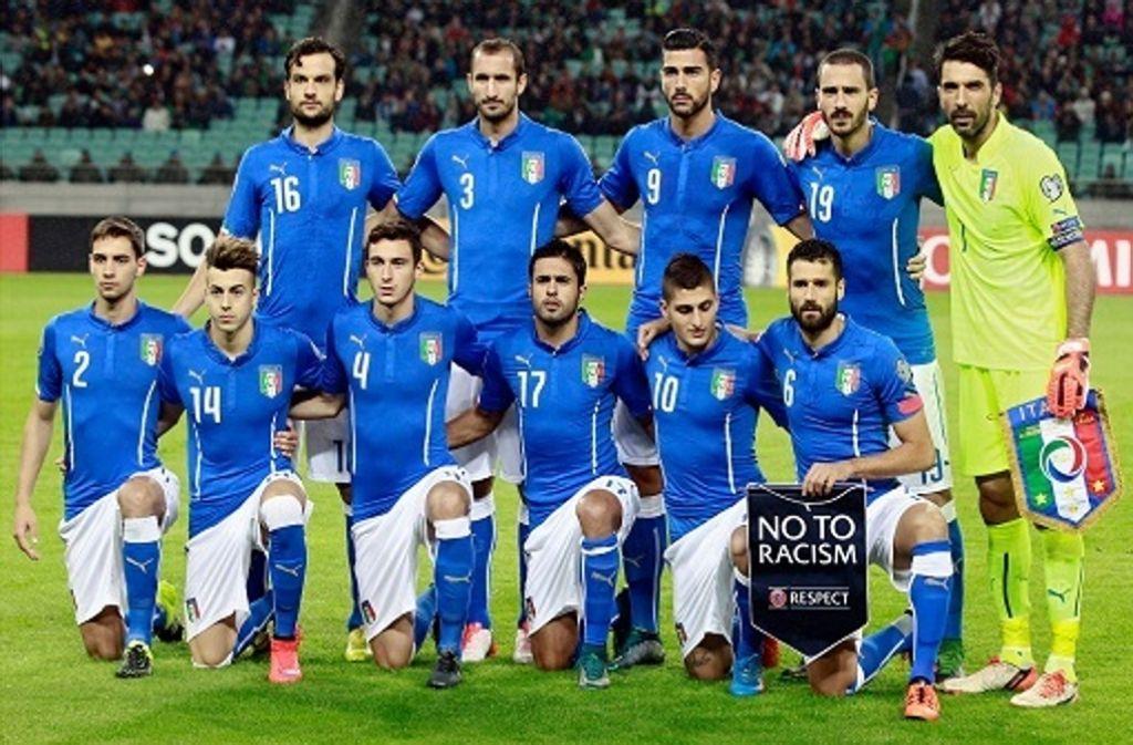 Fu ball em 2016 italien alles beim alten fu ball for Nachrichten fussball